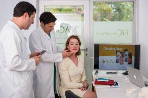 Facial feminization surgeon