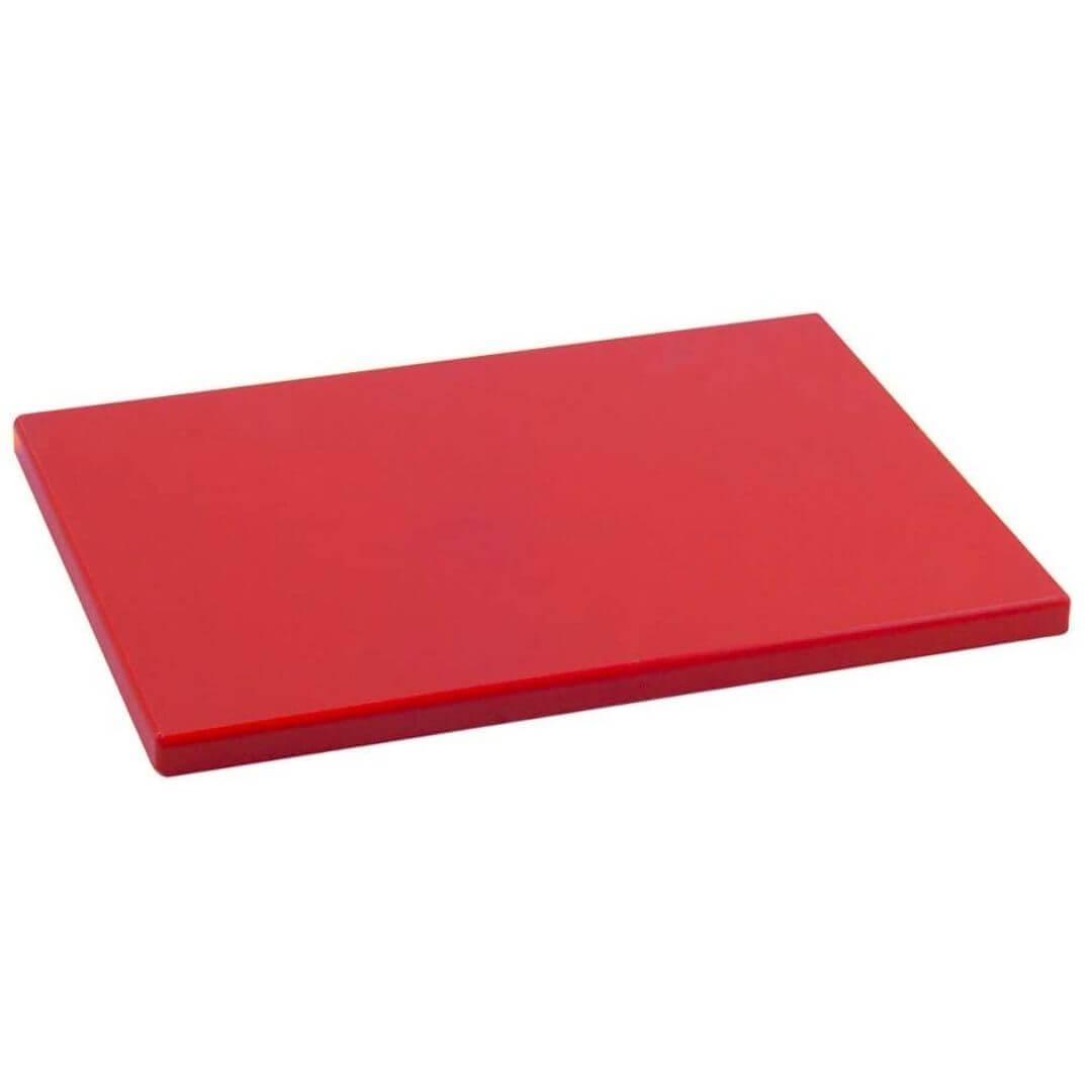 Tabla de picar roja
