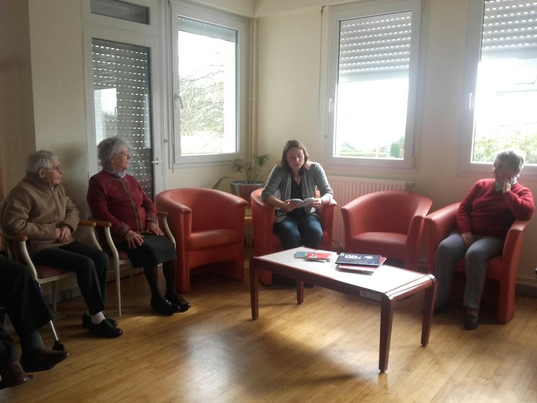 Première séance à la Maison d'Accueil Angélique Lesourd