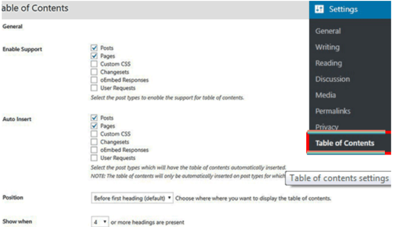 How to Create a Table of Content in WordPress Posts and Pages 4