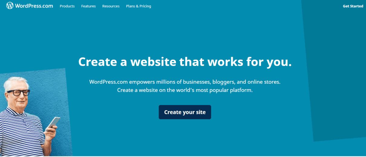 WordPress.org best blogging platforms.