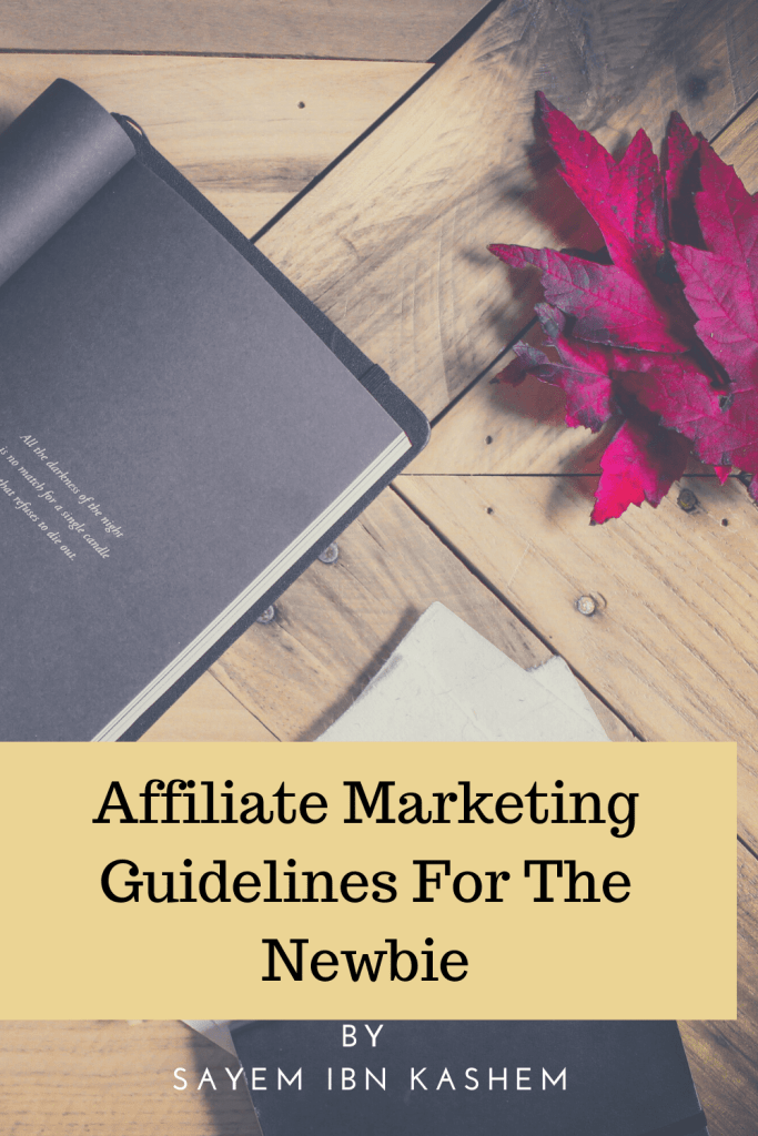 Affiliate Marketing Guide For The Newbie