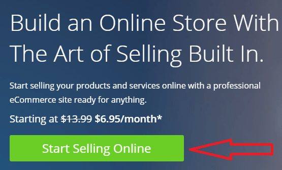 start an online store with bluehost