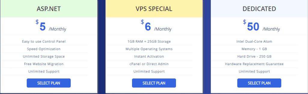 Interserver Hosting Plan-The best monthly billing hosting for newbie bloggers