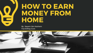 How to earn money from home