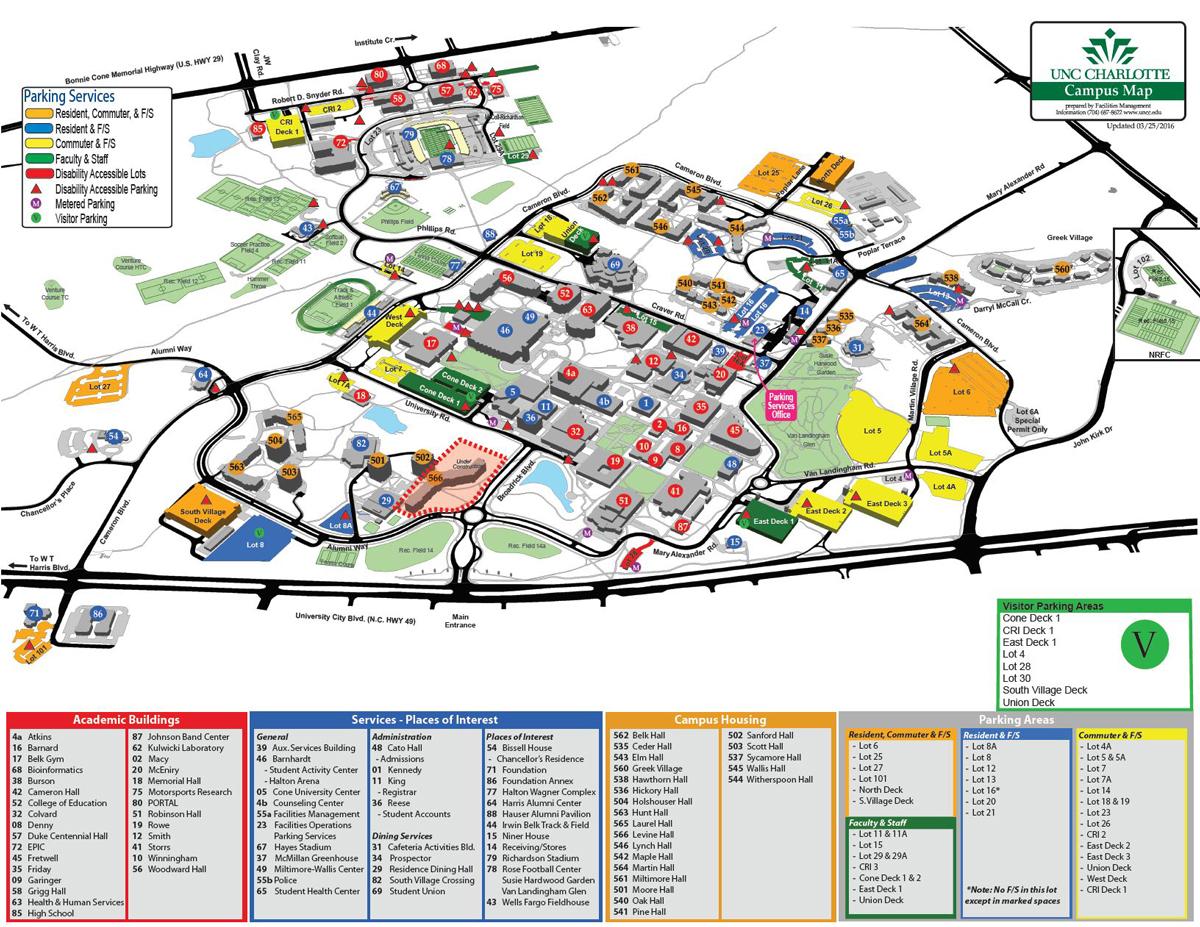 Printable Campus Maps