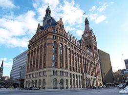 Milwaukee City Hall Foundation Restoration