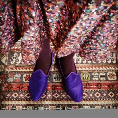 Liberty Pointillism dress