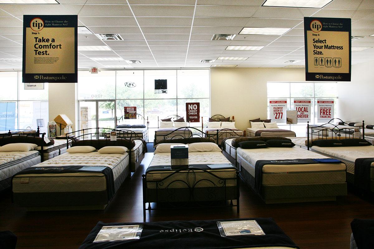 Round Rock Factory Mattress Texas