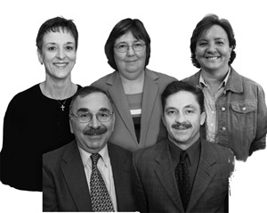 Photo of the 2008 recipients of the NISOD Excellence Awards.
