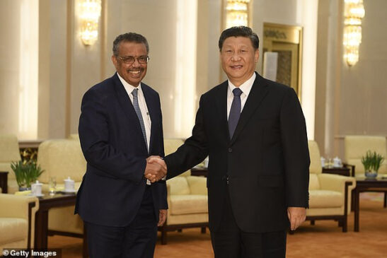 Chinese President and WHO President