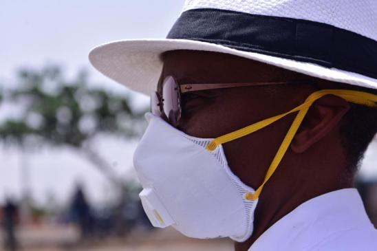El rufai with face mask