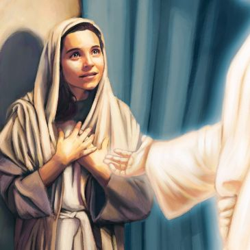 Humble people in the bible - Mary