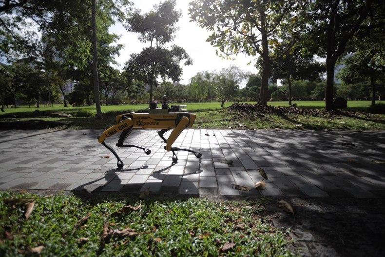 singapore robotic dog