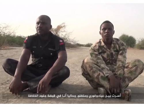 Video Boko Haram executes soldier and policeman