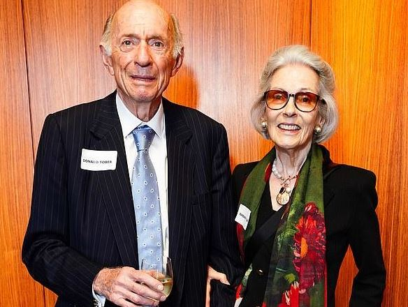 Donald Tober and his wife, Barbara