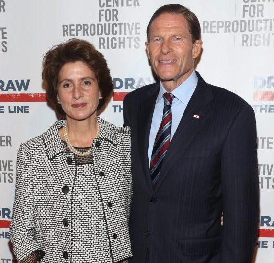 Cynthia Malkin and Richard Blumenthal