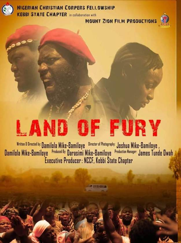 2018 Mount Zion Movie Land of Fury directed by Damilola Mike Bamiloye