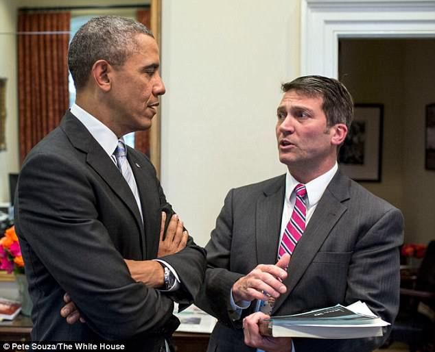 Ronny Jakcson with former president Barack Obama