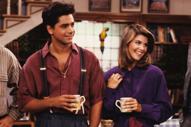 John Stamos and Lori starring in Full House