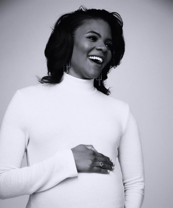 Candace Owens Pregnant, son