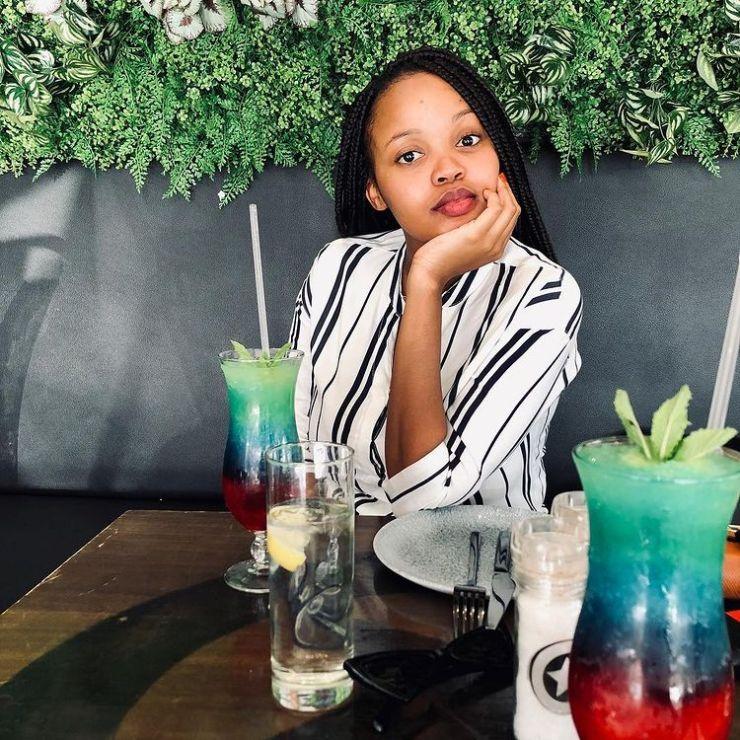 Luyanda Mzazi and food