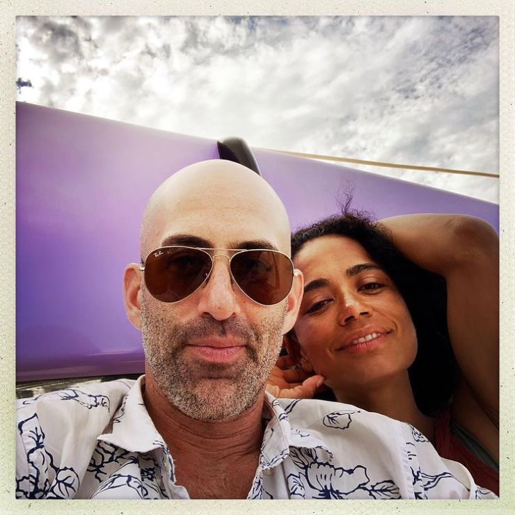 Lauren Ridloff  and Husband