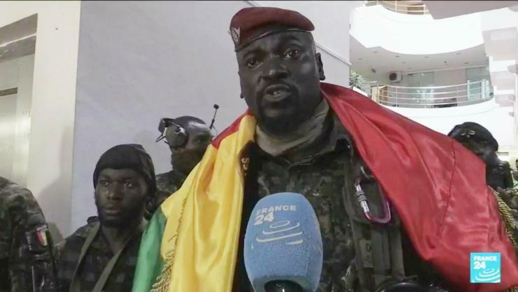 Colonel Mamady Doumbouya Biography, Net worth, Age
