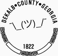 DeKalb County Seal Logo
