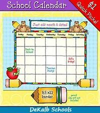 DeKalb Schools 2018 - 2020 Calendar