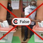 Edo Election: FALSE image circulates online that Oshiomhole voted for PDP