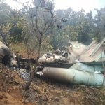 Viral photo of aircraft wreckage was from 2018 crash