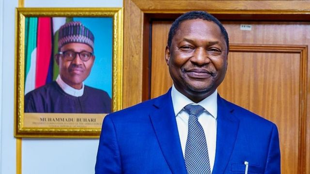 Malami joins Nigerians to defy ban, access Twitter using VPN