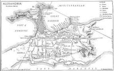 Ancient Alexandria Map