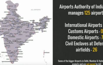 93 percent of the Indian Government owned Airports are making Losses Video Featured Image