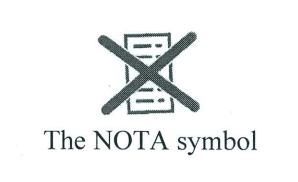 NOTA count in bihar elections_nota symbol