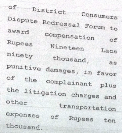 consumer forum in delhi rules fair and handsome ads misleading_compensation amount