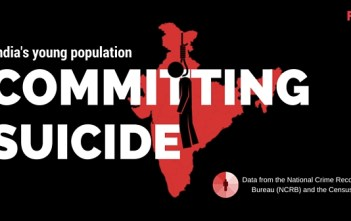 Suicides Data from the National Crime Records Bureau (NCRB) and the Census India featured image factly.in