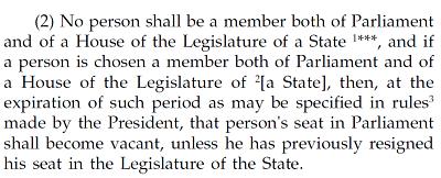 sambhaji laxman patil mla and councilor_article 101(2)