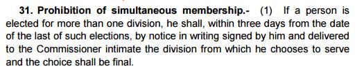sambhaji laxman patil mla and councilor_section 31 karnataka municipal corporations act