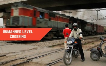 More than 10000 unmanned railway crossings in india_factly.in