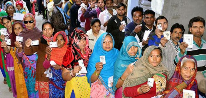 UP Elections: Female voting percentage was more than Male for the first time in 2012
