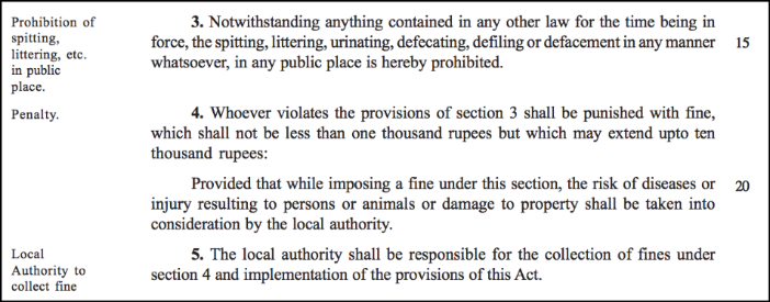 interesting Private Member bills_public urination and defacation punishment
