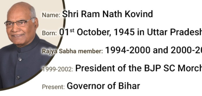 Here is what Ram Nath Kovind did as a Rajya Sabha Member