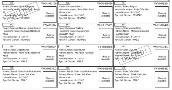 Electoral Roll alphabets_Electoral Roll alphabets