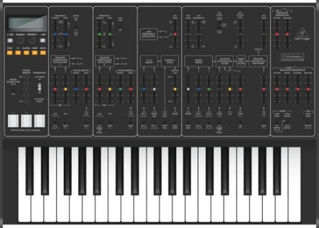 Behringer teases $500 reproduction of classic ARP Odyssey synth
