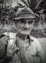 old man bw