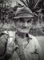 old man bw
