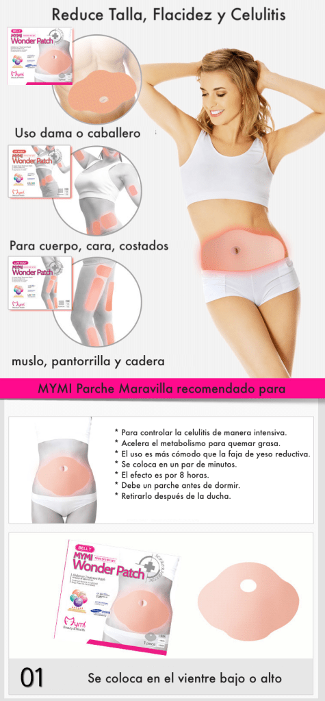 parche reductivo mymi wonder patch