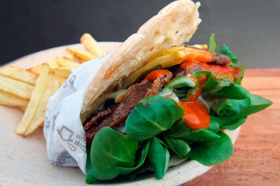 kebab vegano